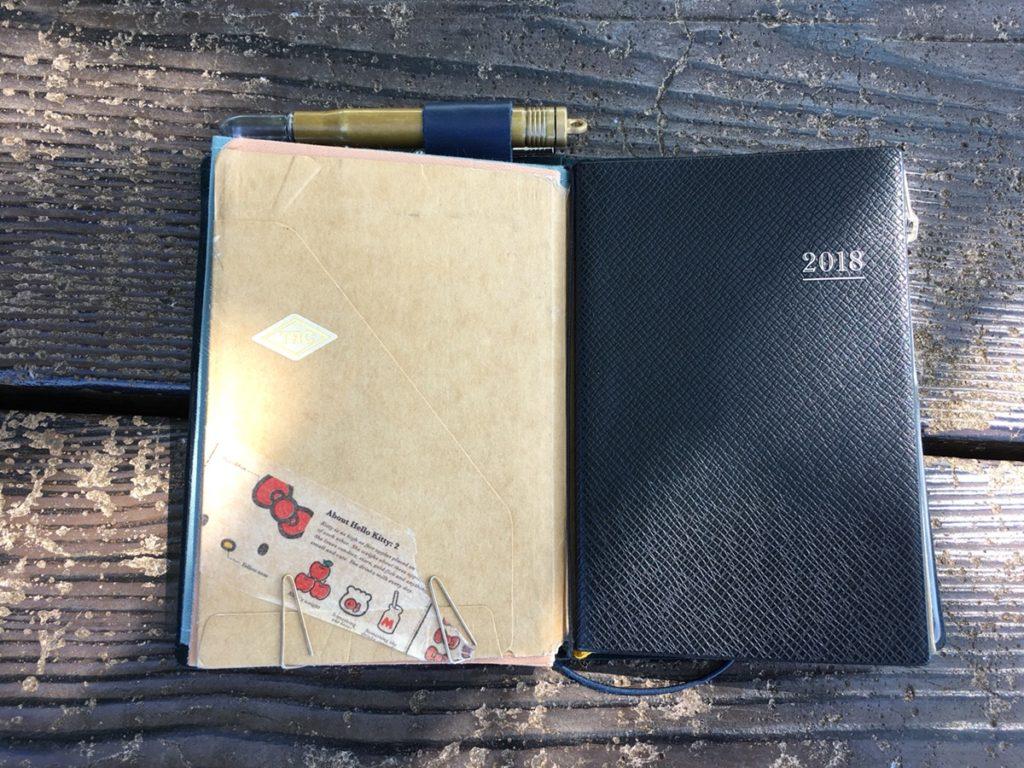 トラベラーズノートのパスポートサイズの活用法は?無印のノートなどサイズが合うリフィルも紹介!