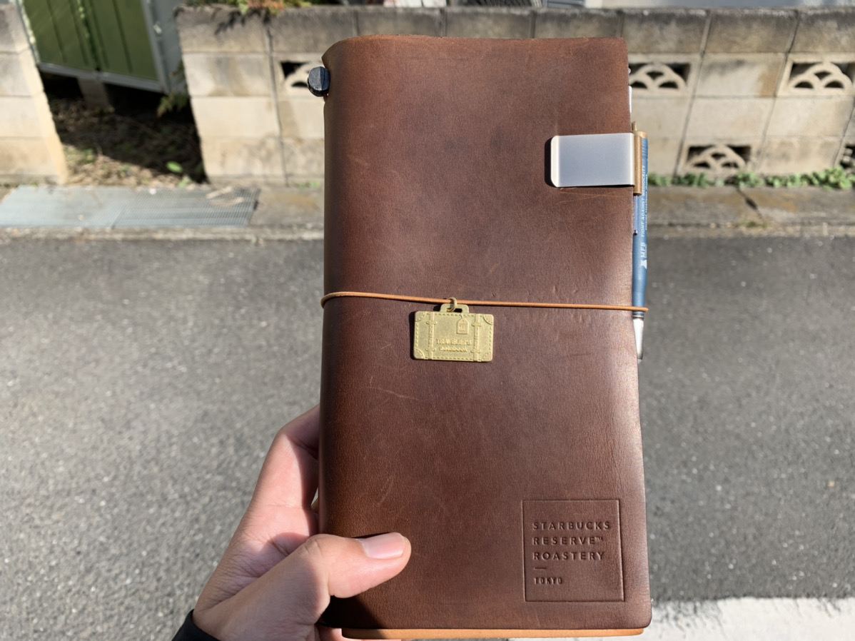 トラベラーズノートパスポートサイズの使い方を公開!愛用のパスポートサイズをフル活用!