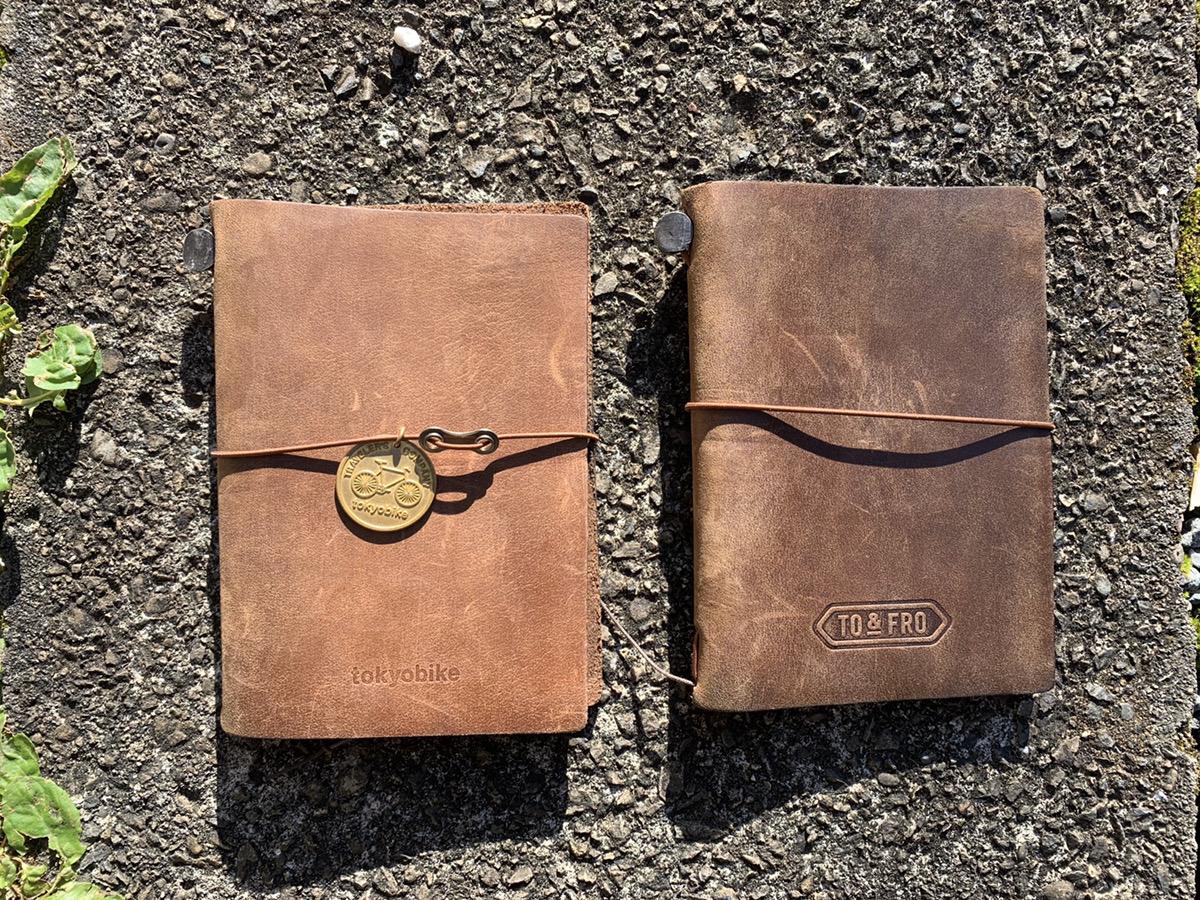 tokyobikeとto&froコラボのトラベラーズノートパスポートサイズを公開!エイジング画像と比較してみたら